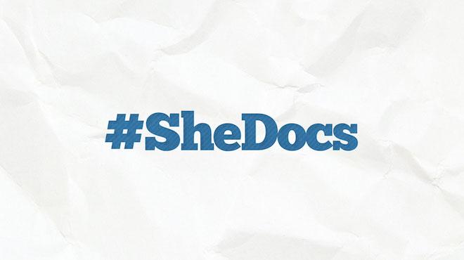#SheDocs