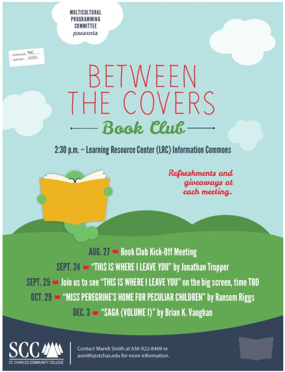 Between the Covers Fall 2014