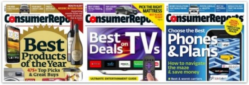 Consumer Reports Issues